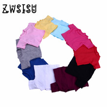 High quality fashion Various styles T shirt For18 inch doll Clothes 43cm zapfs Doll accessories