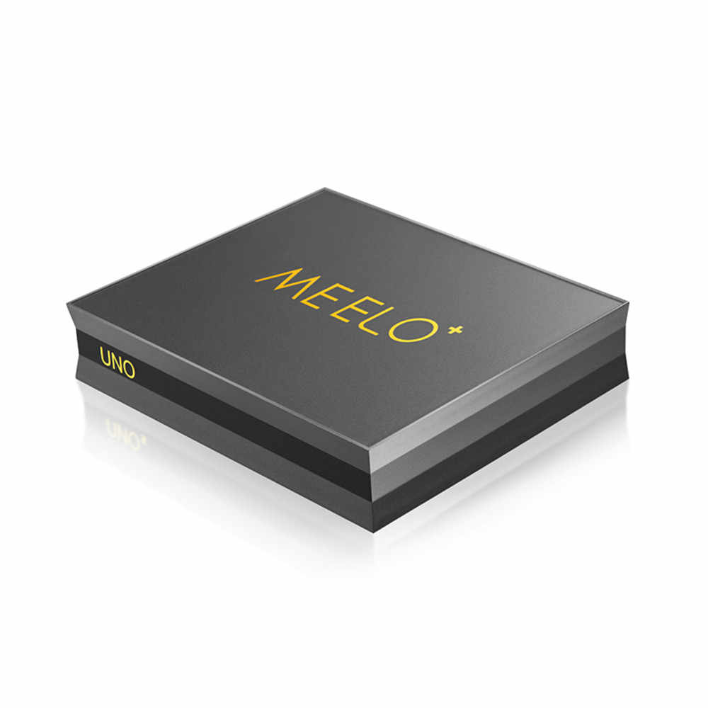 MEELO UNO DVB-S2 DVB-T2 Android 5,1 Смарт ТВ Box Amlogic S905 4 ядра 1 ГБ 8 ГБ UNO2 4 K Media player dvb t2 s2 Поддержка Cccam