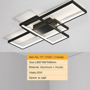 NEO GLeam New Black or White Aluminum Modern Led Chandelier For Living Room Bedroom Study Room AC85-265V Ceiling Chandelier 8