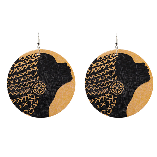 Wood Earrings - 18 Models 3