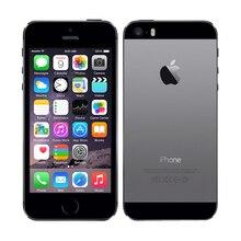 "iPhone 5S разблокированный смартфон Apple iPhone 5S 4,"" 640x1136px A7 двухъядерный 16 ГБ 32 ГБ ROM IOS 9 3G WIFI 8MP 1560 мАч б/у"