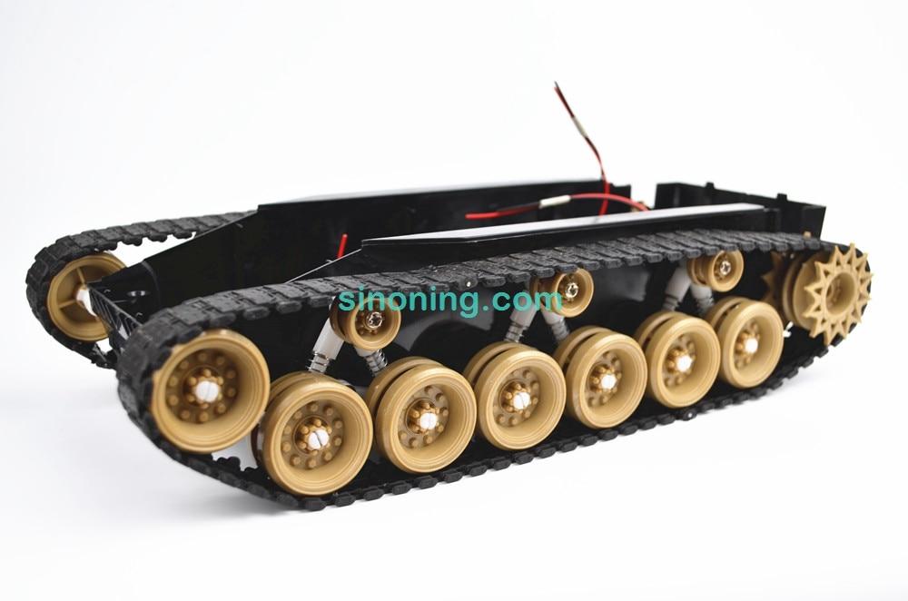 Amortissement solde Réservoir Robot Châssis Plate-Forme haute puissance Télécommande DIY crawle absorption des chocs SINONING pour Arduino