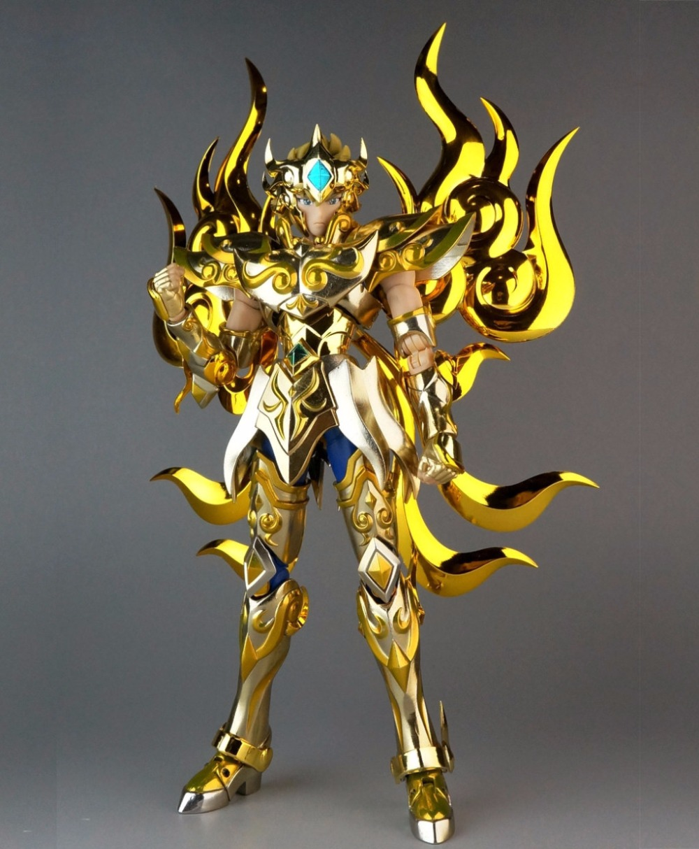 GT Great Toys Saint Seiya Cloth Myth EX Gold GOD Cloth LEO