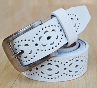 Cinto feminino 2015 Nuevo estilo del verano del diseñador cinturones anchos para las mujeres correa de cuero de señoras de La Manera de decorar con hueco hacia fuera