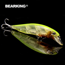 10cm 14.5g Bearking 1PC New Arrival Hot Sale Minnow Hard Fishing Lure Bait 2017 hot Fishing Tackle Artificial Lures Bait