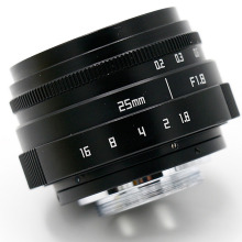 25mm f1.8 C mount camera CCTV Lens II for Sony NEX E-mount camera
