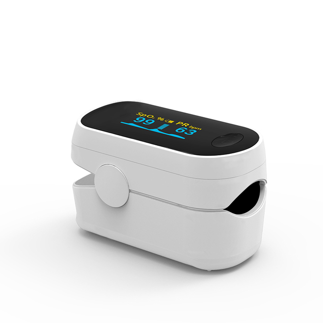 BOXYM Medical Portable Pulse Oximeter OLED Pulsioximetro blood oxygen Heart Rate Monitor Oximetro Household Health Monitors 2