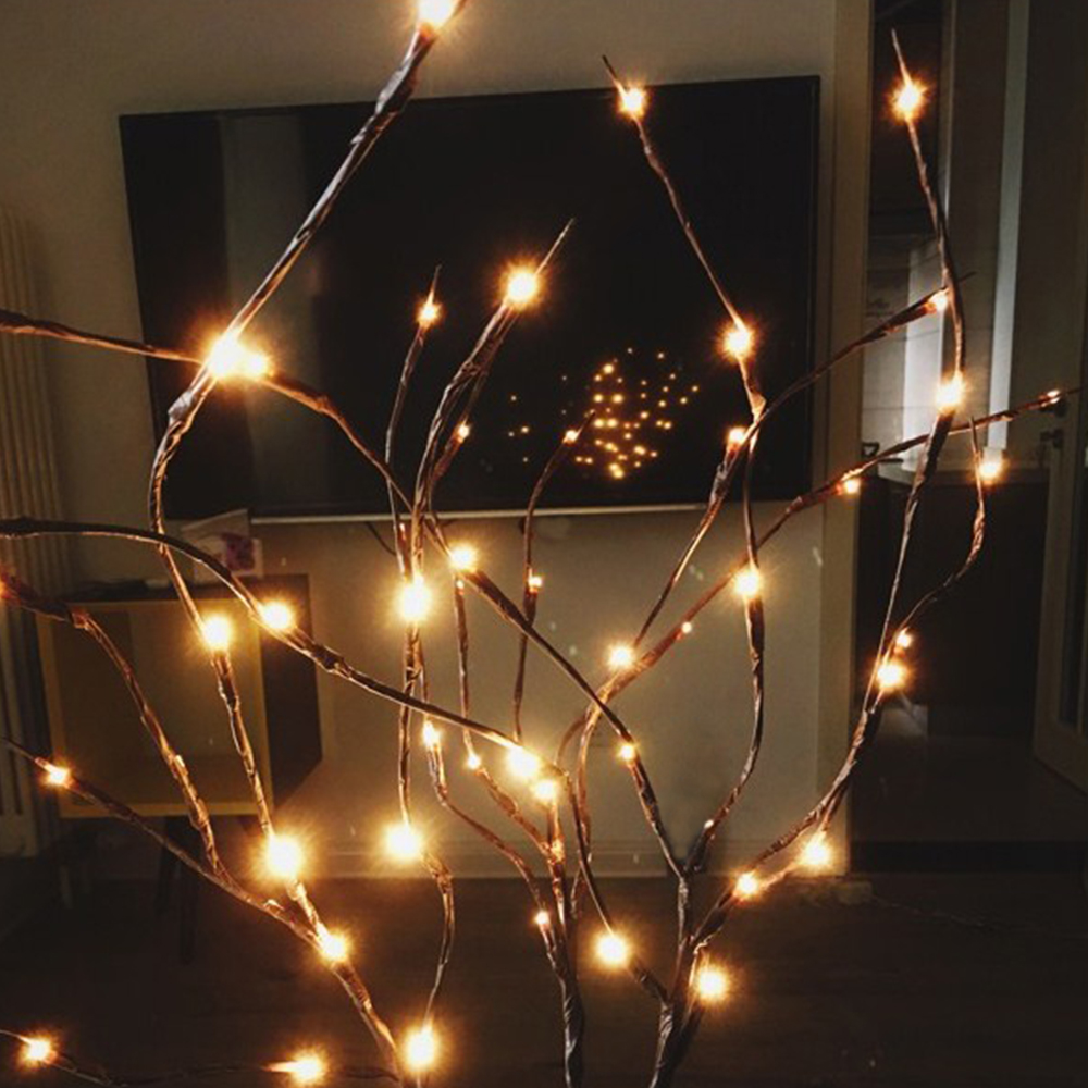 Willow Branch Lights Led Branches Decorative Lights Tall Vase Filler Willow Lighted Branch Home Decoration For Valentine' Day (11)