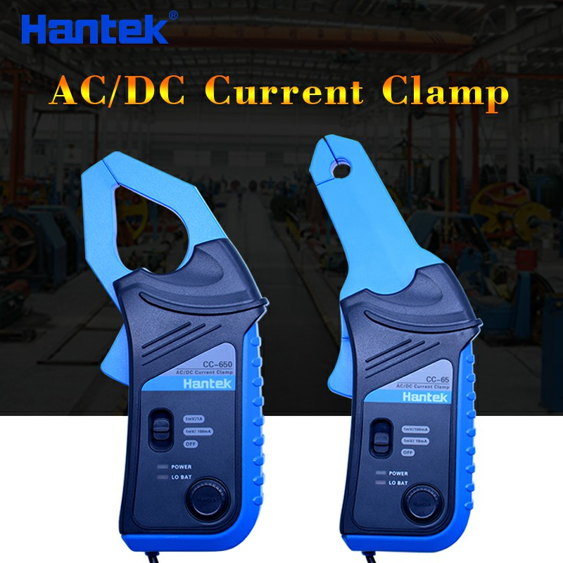 Hantek CC650 ac dc current clamp meter current clamp cc65 handheld oscilloscope multimeter with BNC Connector цена