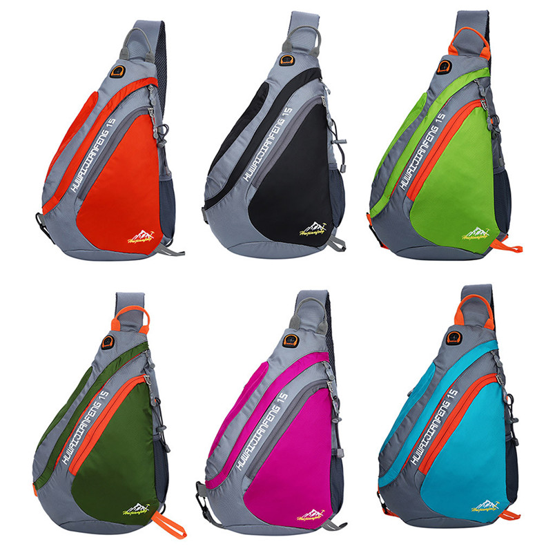 1pc New Sling Backpack Chest Bag Shoulder Pack Outdoor Lightweight Crossbody Daypack hiking cycling Outdoor Bags #3n19 (6)