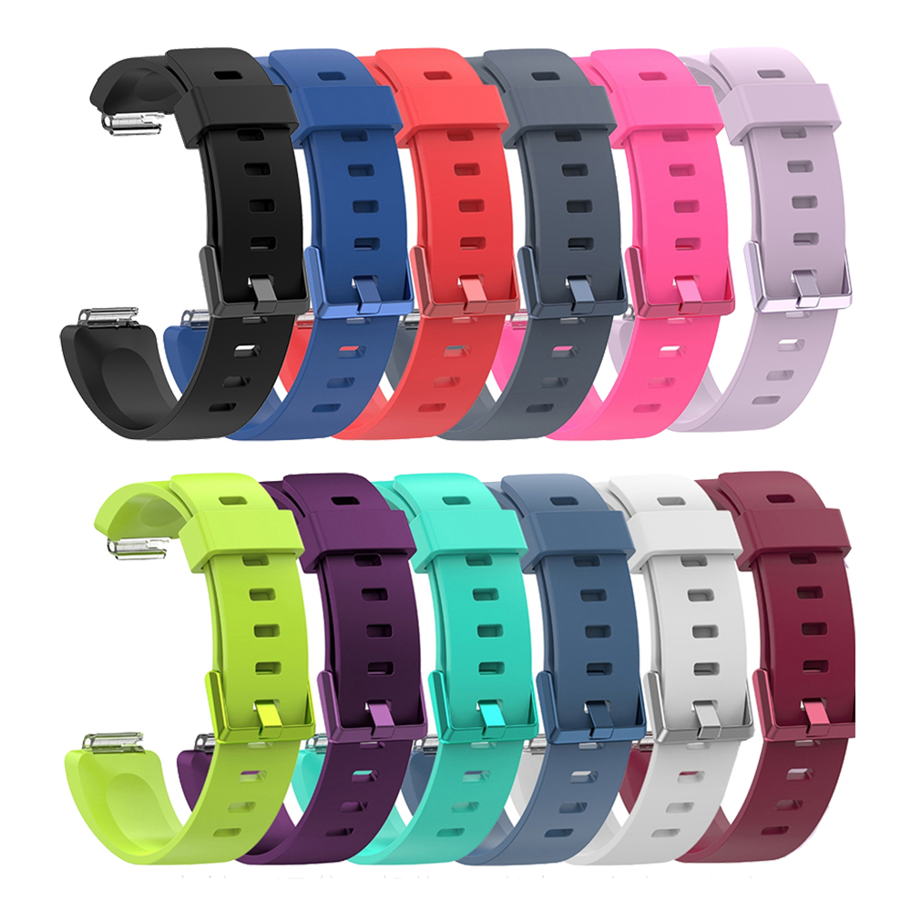 Laforuta Silicone Band For Fitbit Inspire Strap Fitbit Inspire HR Wristband Sport Bracelet Women Men Replacement Watchband 2019 in Watchbands from Watches