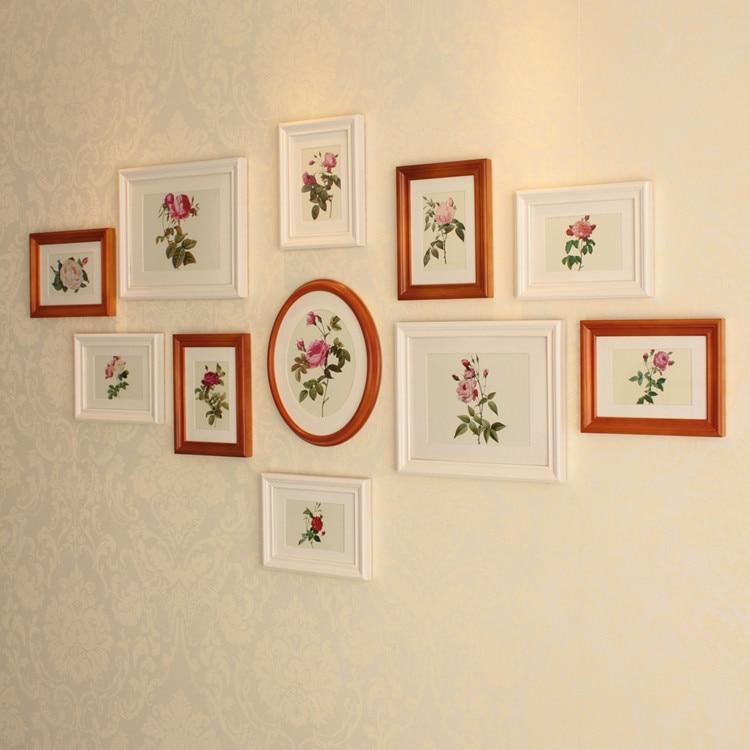 European Style Wood Frame Photo Wall Frame Wall Creative