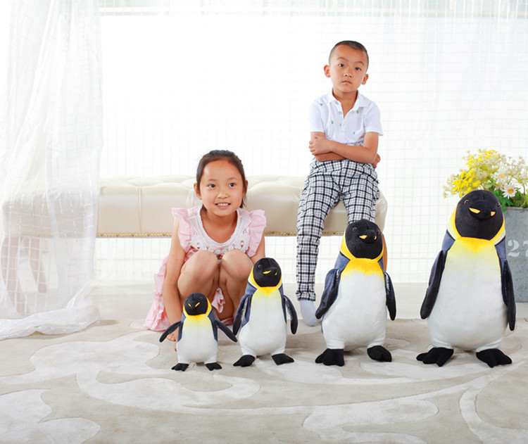 new creative plush penguin toy high quality penguin doll gift