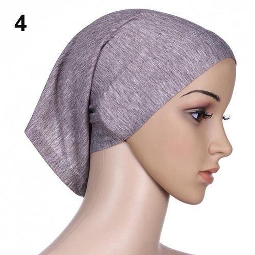 Шарм женщины под оборудуем трубки капот крышка кости исламская головных уборов мусульманский хиджаб 1 x