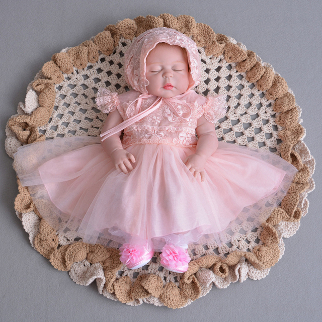 cc28752a5dcdc Formal Newborn Baby Girl Wedding Dress For Toddler 1 Years Birthday Party  Baptism Clothes for Christing Gown
