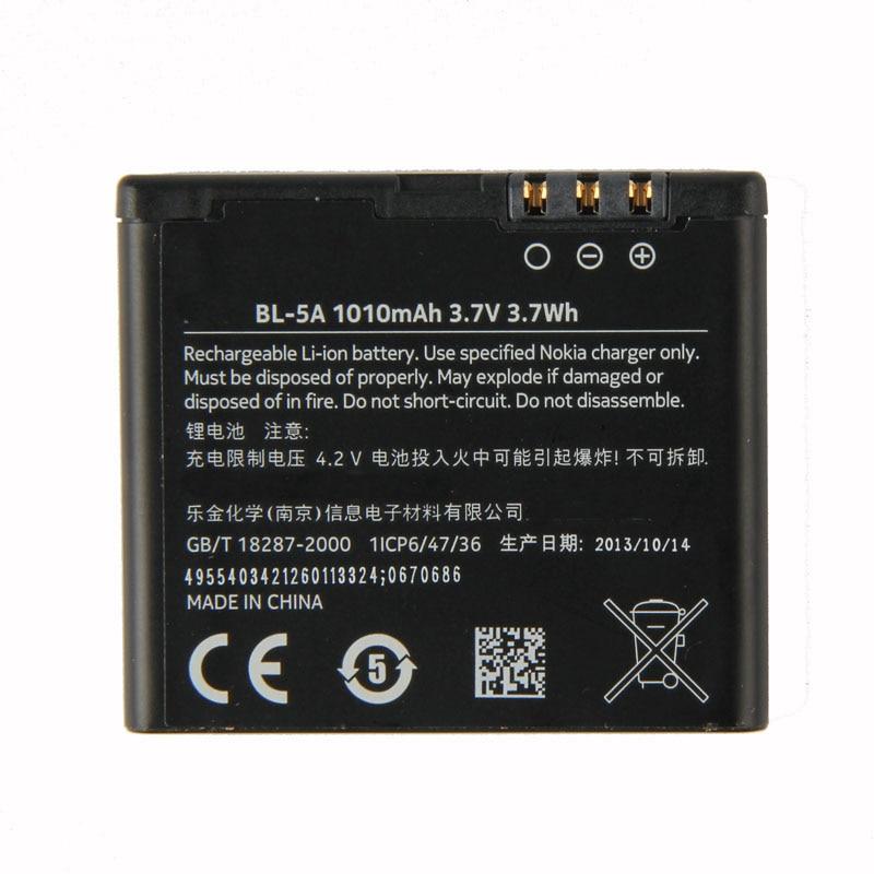 Original BL 5A phone battery for For Nokia Asha 502 1010mAh-in Mobile Phone Batteries ...  Original BL 5A ...