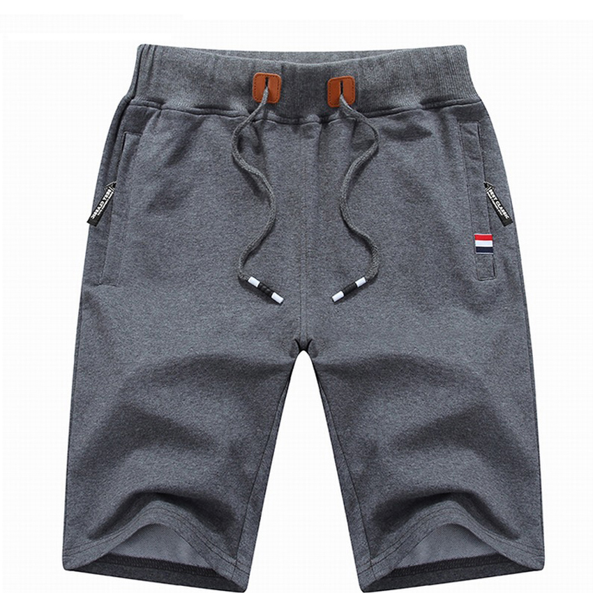 Men's Shorts Clothing Cotton Casual Summer Brand 4XL Solid Homme