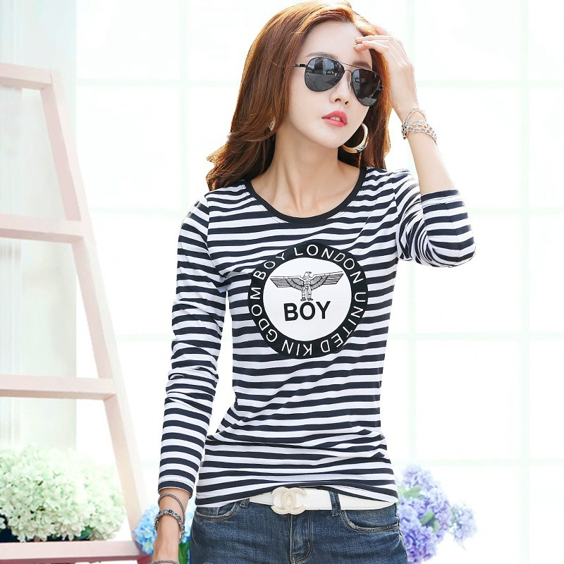 2016 New Students In Autumn And Winter Women S T Shirt Long Sleeve Shirt Blouse Letter