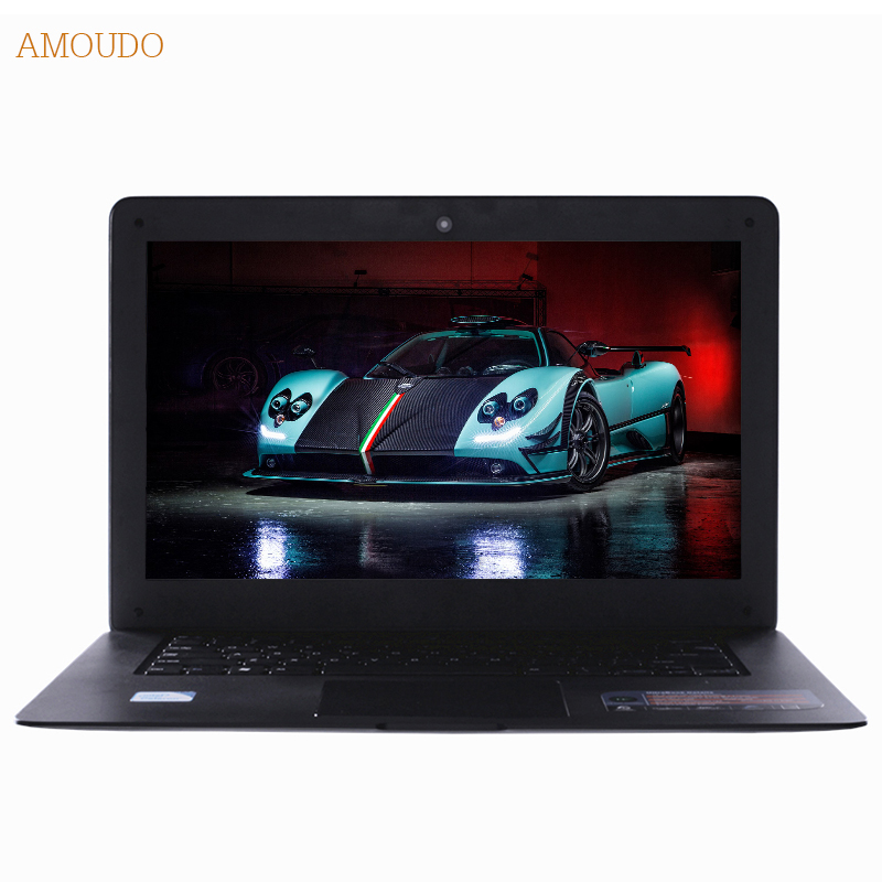Amoudo 14inch Intel Core i5 CPU 8GB RAM 120GB SSD 750GB HDD Dual font b Disks