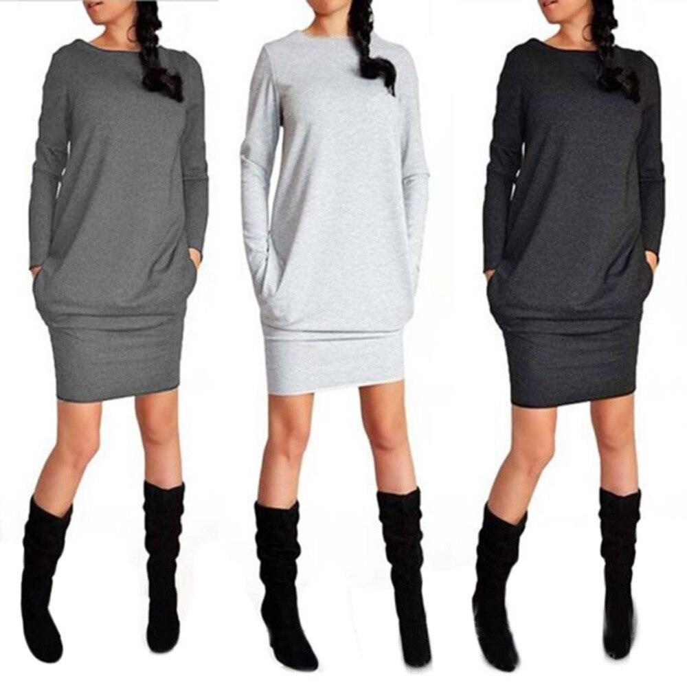 Aliexpress.com : Buy Womens New Trendy Loose Casual Autumn Winter ...