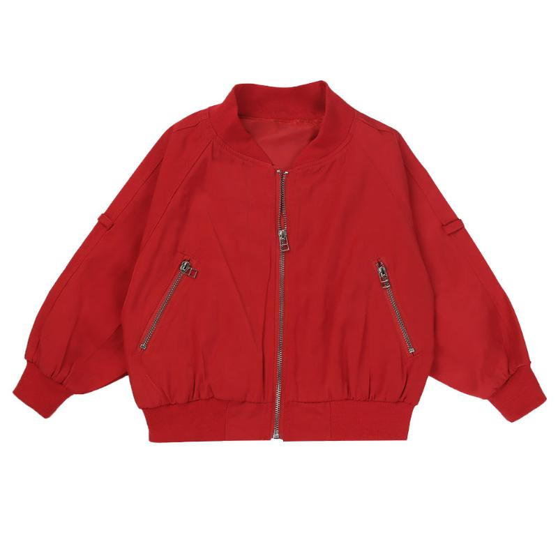Girl Baseball Coat Spring Autumn Baby Baseball Jacket Kid Tracksuit Suit Long Sleeve Coat School Children Outwear Baby Boy Cloth