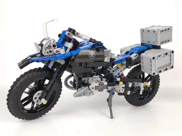 Technic Series The BAMW Off-road Motorcycles R1200 GS Building Blocks Bricks Educational Toys for Kid DIY Model Figurs decoo 3369 technic series the bamw off road motorcycles r1200 gs building blocks bricks educational toys lepin 20032 b11