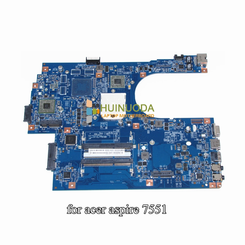 MBPT901001 MB.PT901.001 For Acer aspire 7551 7551G Laptop Motherboard JE70-DN 48.4HP01.011 DDR3 Socket s1 with Free CPU