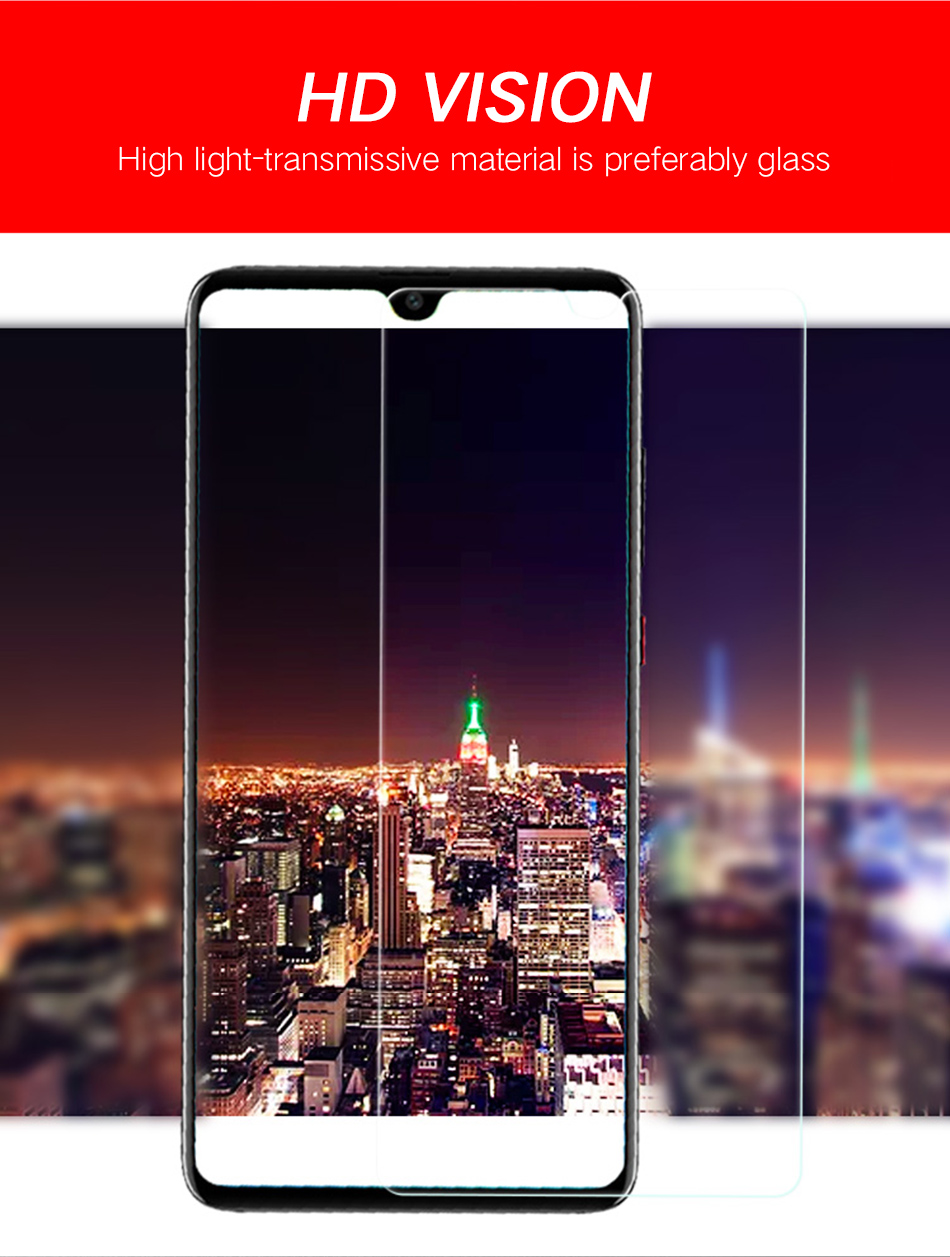 2JiQi mate20 P20 Pro Lite Tempered Glass 2.5D For Huawei P10 Lite P20Pro Full Film Protector For Huawei Honor 10 9 P10 plus Lite