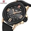 Reloj Hombre Relojes Hombres Naviforce Marca Casual Hombres Hombre del Reloj Del Deporte Militar Reloj de Pulsera de Cuero de Cuarzo Reloj Relogio masculino