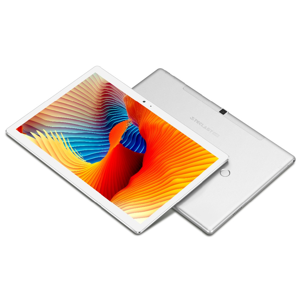 Teclast T20 4G LTE Network Tablet PC Fingerprint Lock MT6797 X27 Deca Core 4GB ROM 64GB RAM Dual WiFi 13.0MP 10.1 Inch GPS