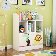 Louis Fashion Children Bookcase Simple And Modern Creative Cartoon Bookshelf Table Baby StudentChina
