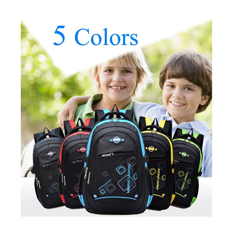 0e75e569c577 MAGIC UNION Children School Bags For Girls Boys High Quality Children  Waterproof Backpack In Primary School Backpacks -in Backpacks from Luggage    Bags on ...
