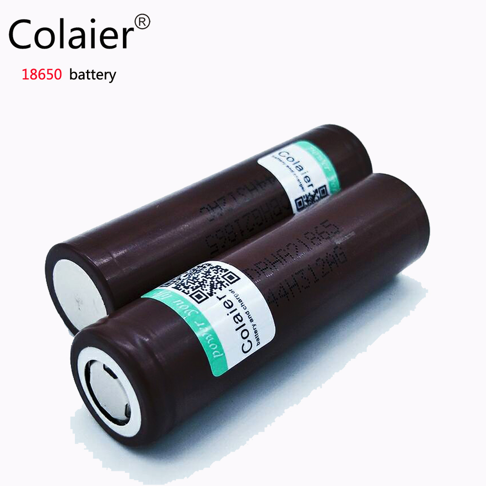 Colaier new Original For LG HG2 18650 3000mAh battery 3 6v The discharge 30A Dedicated electronic