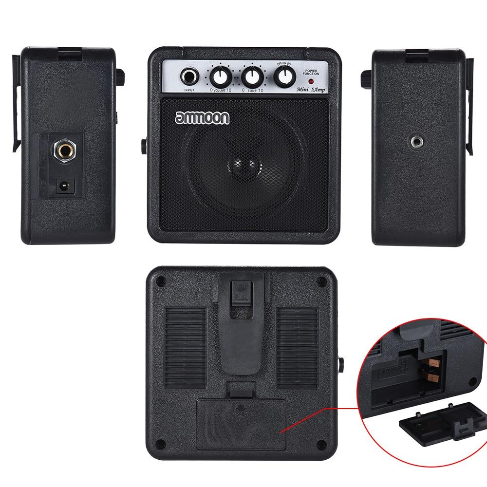 Beautiful Ig-mini 5 Watt 9v Battery Powered Amp Amplifier Speaker For Acoustic/ Electric Guitar Ukulele High-sensitivity Portable Speakers Speakers