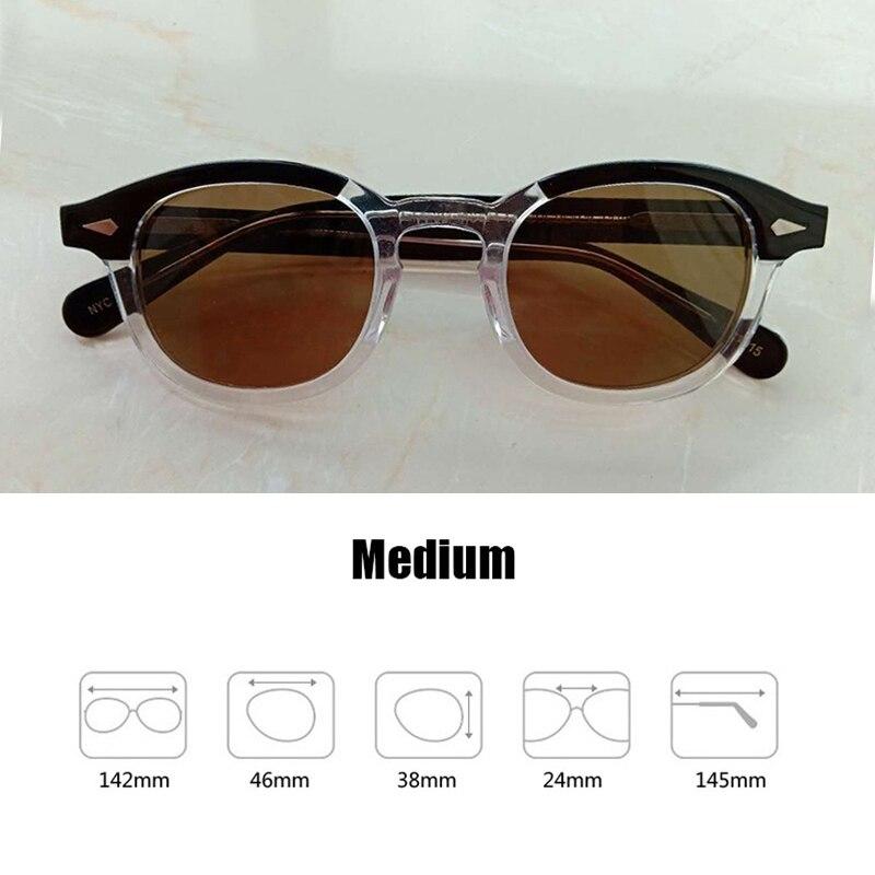 Johnny Depp Glasses Polarized Sun Glasses Men Woman Brand Designer UV400 Driving Shades Acetate Glasses Frame Top quality SQ083 in Men 39 s Sunglasses from Apparel Accessories