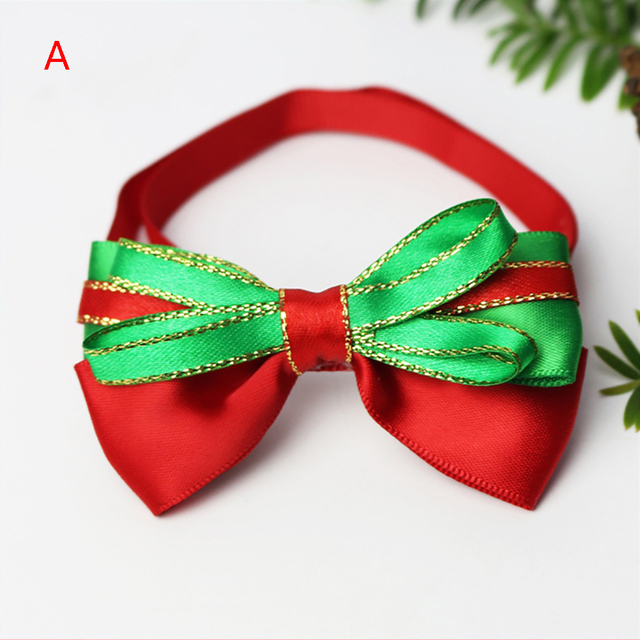 Bow Loverly Bowknot Dog Ties Cute Pet Dog For Puppy Dogs Accessories With Rubber Bands Cute Pet Headwear Grooming 4