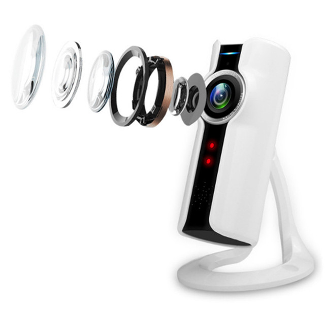 2MP 1080 p HD Wireless sicherheit VR Raum Kamera Zwei gegensprech ...