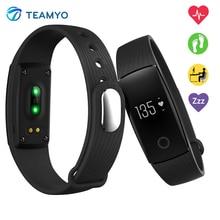 Teamyo New V05C Smart Band Pulse Heart Rate Monitor Smart Wristband Fitness Tracker Pedometer Sleep Tracker IOS Android Bracelet