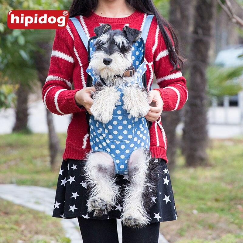 07d09269dbe Pet Carrier Shoulders Back Front Pack Dog Cat Travel Bag Mesh Backpack Head  Legs Out Design Travel Adjustable Shoulder Strap