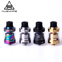 Augvape Merlin Mini Atomizer 24mm 2ML Single Dual Coil Deck RTA Atomizer Dual Airflow Vape Electronic