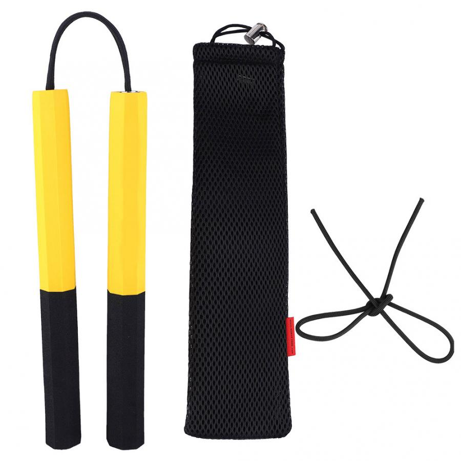 Training EVA Nunchaku Practice Safety Bubble Foam Nunchakus Child Kids Toys Self Defense Martial Arts Products