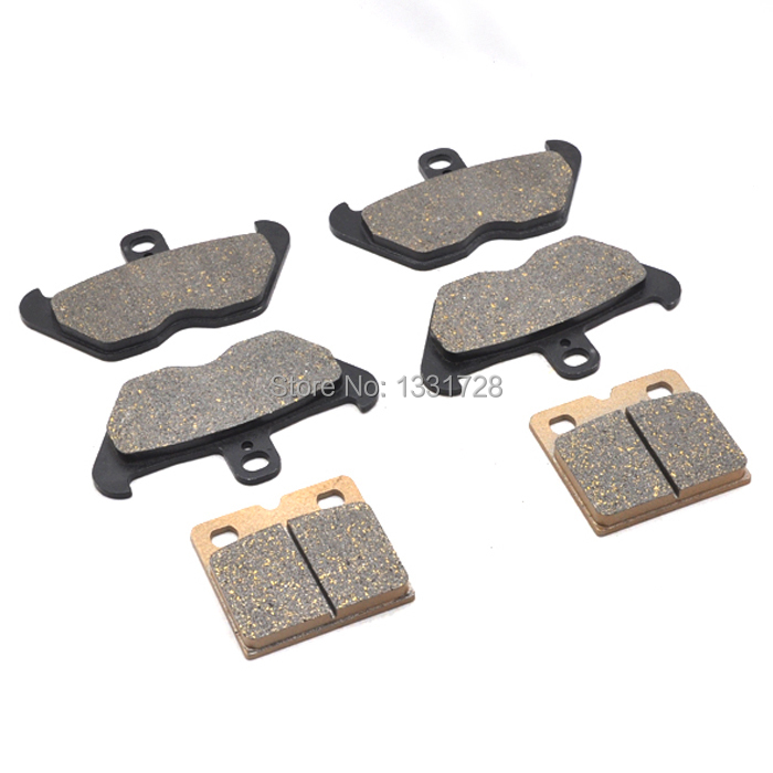 100% Brand New Motorcycle Front+Rear Brake Pads For BMW K1200LT 97-00 image
