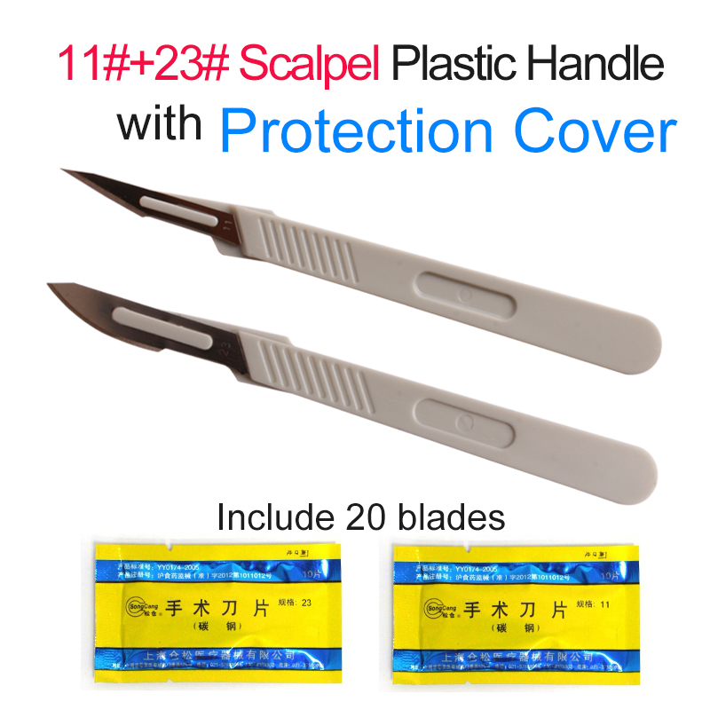 Carbon Steel Blades Surgical Scalpel Blades Replaceable Repair Phone Paper Cut Multifunction Sculpture Carving Knife Scalpel