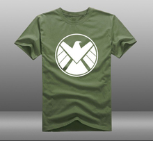 XHTWCY Shirt Marvel Agents of S H I E L D Tv Show Symbol Logo
