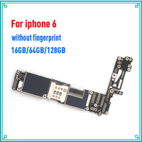 16gb / 64gb / 128gb for iphone 6 4.7inch Motherboard with full unlocked,100% Original for iphone 6 Logic boards without Touch ID
