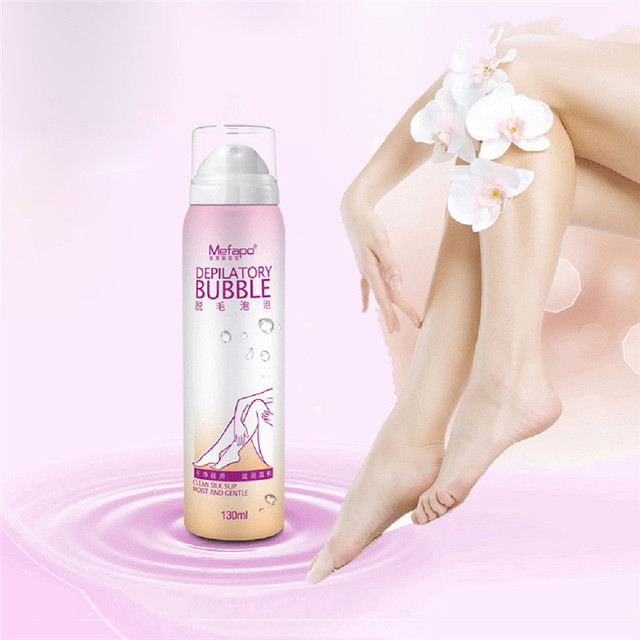 No Damage No Pain Anti allergic Mousse Spray Foam Mousse Creams Depilatories For Both Women And Men maquiagem hair removal cream
