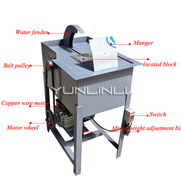 2200w 12 Inch Jadestone Cutting Machine Bench Type Water Cutting Machine For Jade Agate Stone