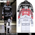 Hood By Air HBA EXO HBA 2NE1Catwalk models with double-layer mesh couple long-sleeved jacket outerwear