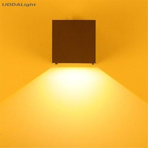 parede 10 w smd conduziu luz ip65 da parede do jardim