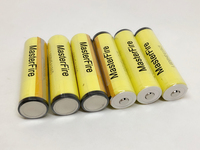 New MasterFire Wholesale Protected LGDBHE41865 2500mAh HE4 Lithium Battery 18650 3.7V Batteries with PCB 20A discharge For LG